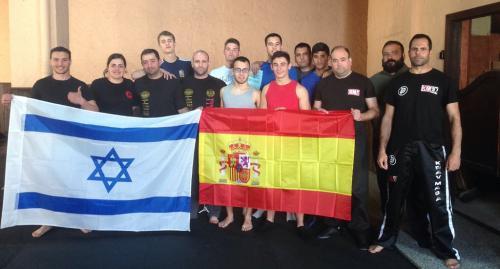 סמינר עילית קרב מגע בקדיז ספרד